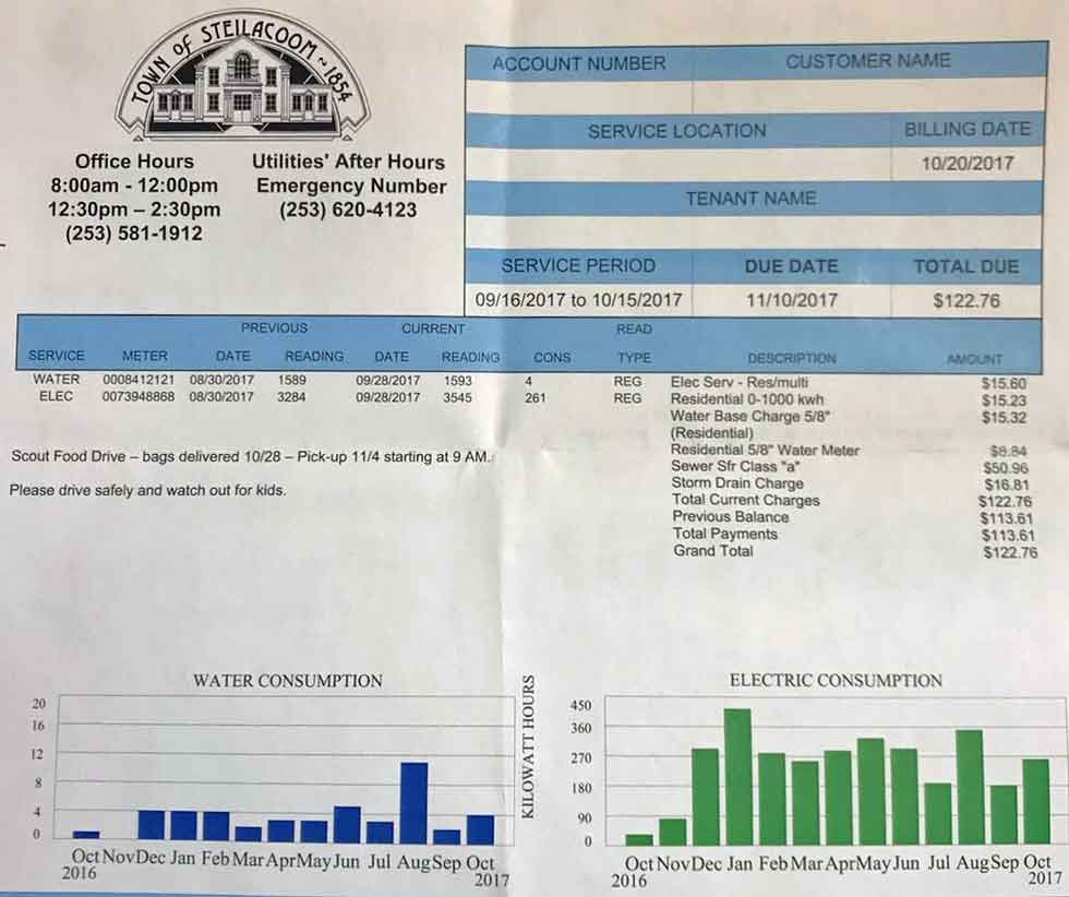 Passive House Electric Bill
