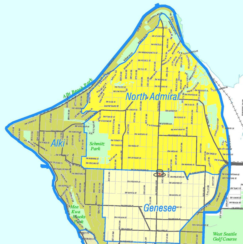 Seattle - West Seattle